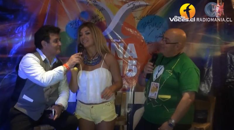 Backstage de la prensa en Viña del Mar 2015
